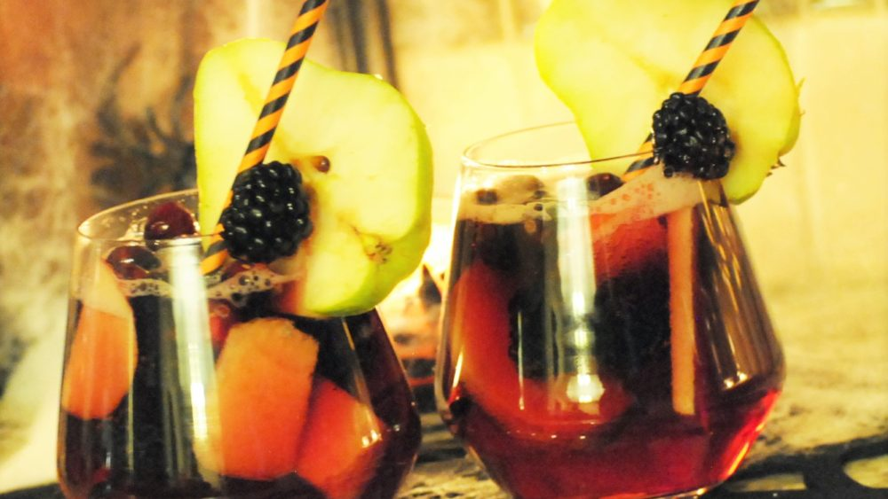 autumn sangria, fall sangria