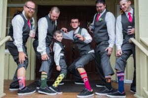 groomsman socks groom